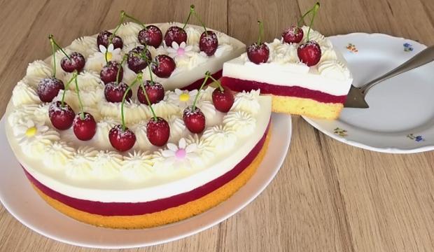 Čerešňová torta  - foto postup
