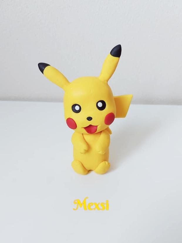 Ako vymodelovať postavičku Pikachu  na tortu - foto postup