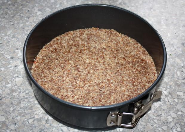 RAW čučoriedková torta - recept postup 4