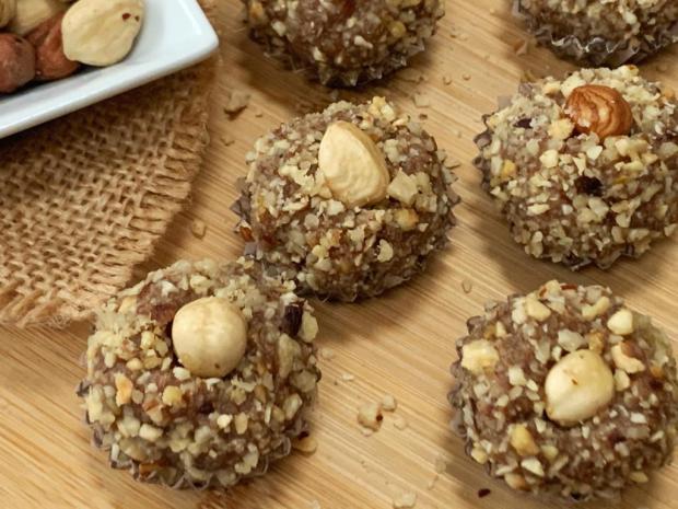 Nepečené Ferrero guľky - recept