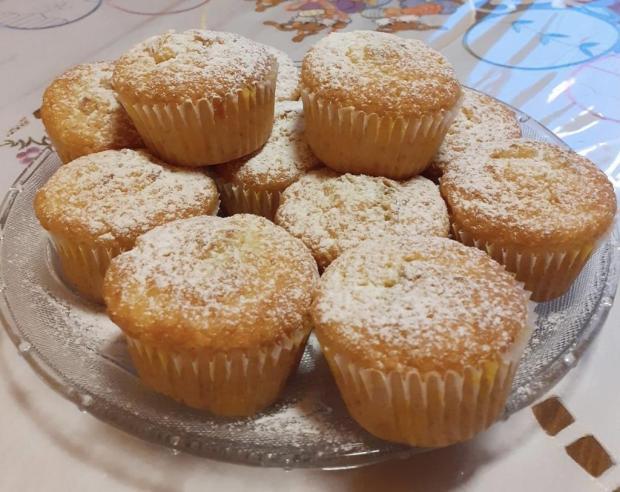 Citrónové muffins - recept