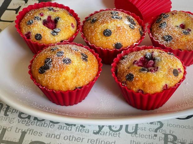 Vláčne muffiny - recept