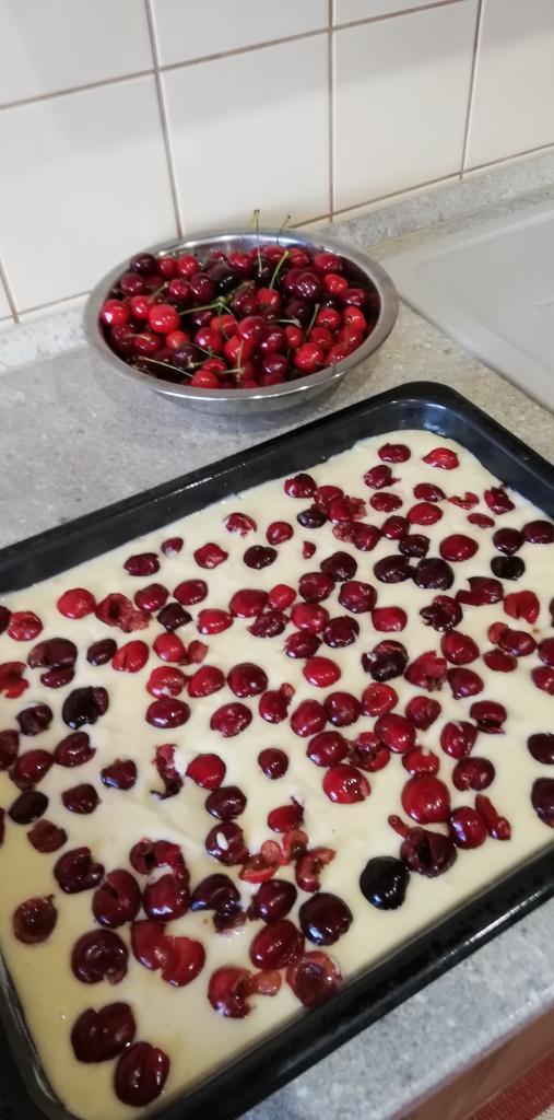 Bublanina hrnčeková  - recept postup 1