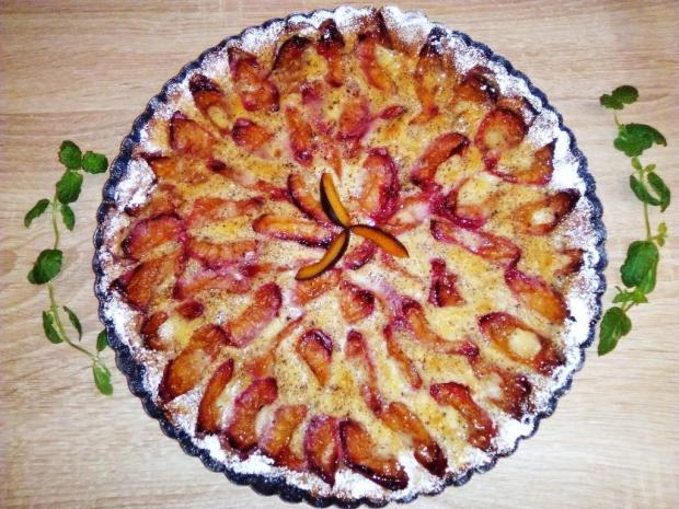 Francúzsky slivkový koláč - recept