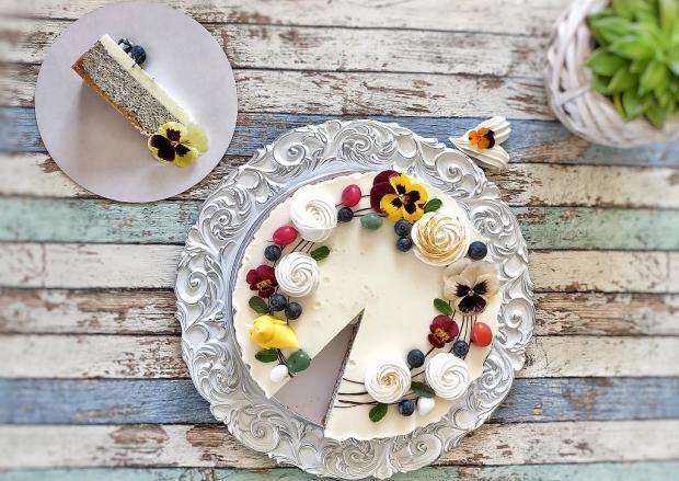 Makový cheesecake - recept