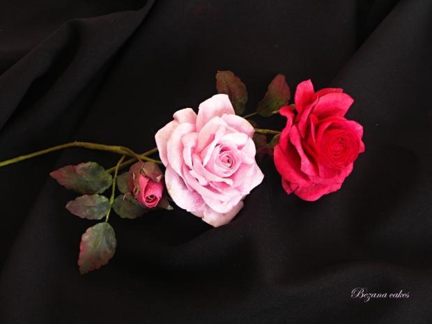 Postup na kvety z jedleho papiera