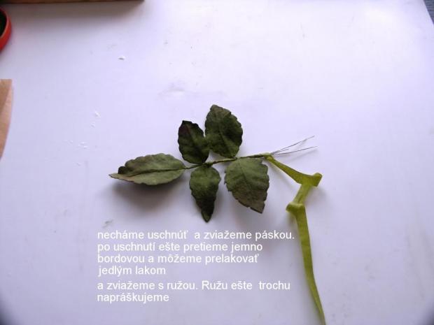 Ruža z jedlého papiera 2 27
