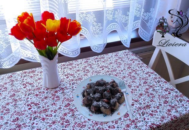 Slivkové gule  - recept postup 1
