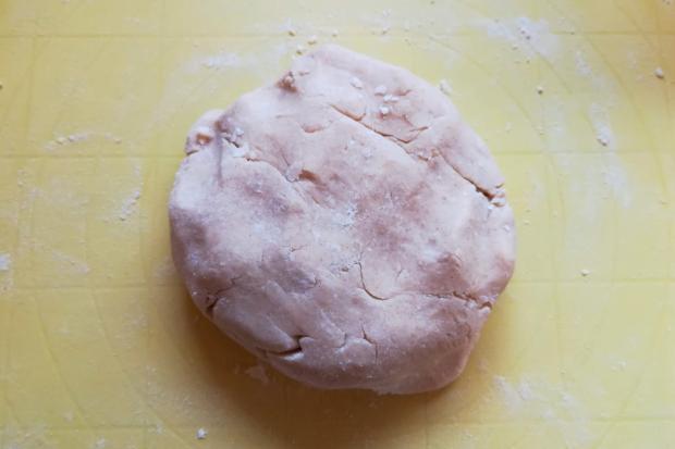 Slivkový koláč s makom - recept postup 2