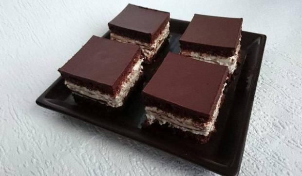 Smotanovo čokoládová maškrta - recept