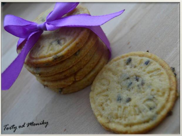 Levanduľové sušienky - recept