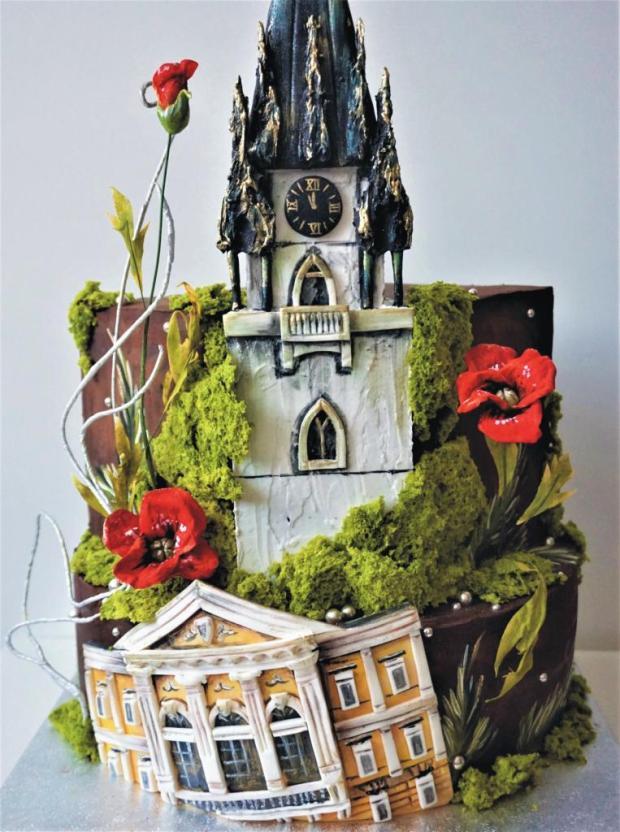 Kostolná veža na oblátke