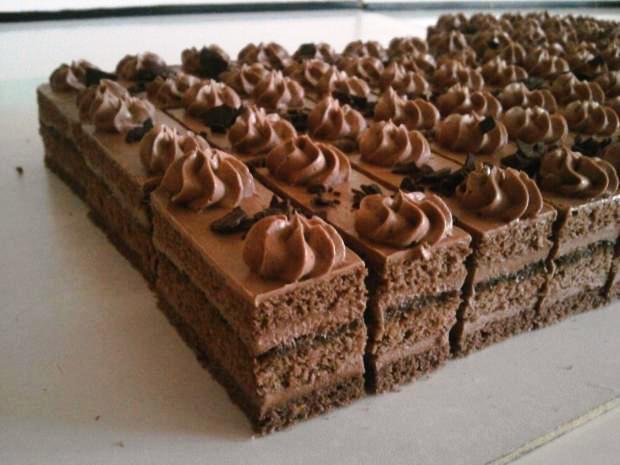 Čokoládové rezy - recept