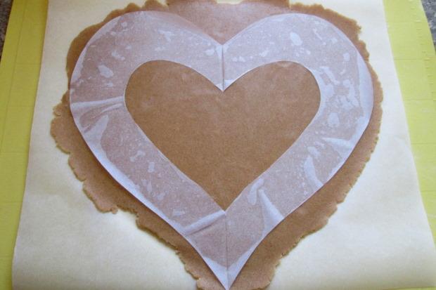 Torta v tvare srdca - recept postup 3