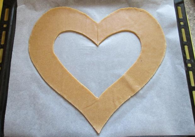 Torta v tvare srdca - recept postup 4
