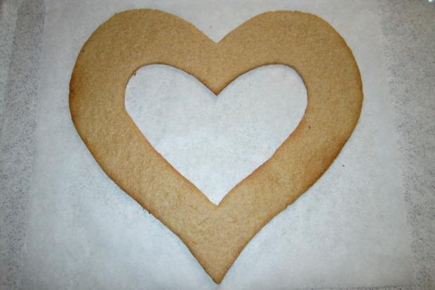 Torta v tvare srdca - recept postup 5
