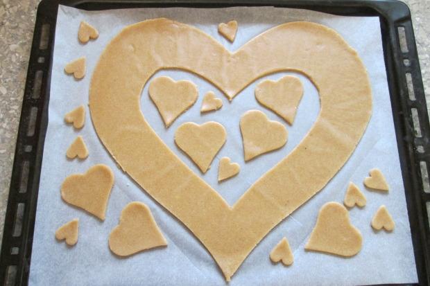 Torta v tvare srdca - recept postup 6