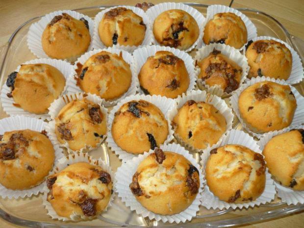 Študentské muffiny - recept