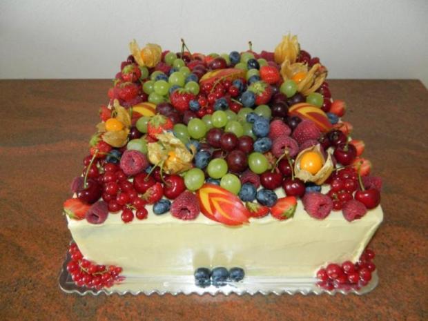 Mascarpone a maliny so záplavou ovocia 1