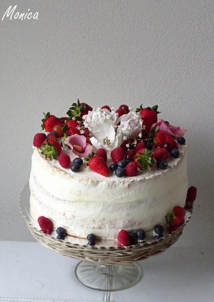 Ovocná torta s mascarpone 1