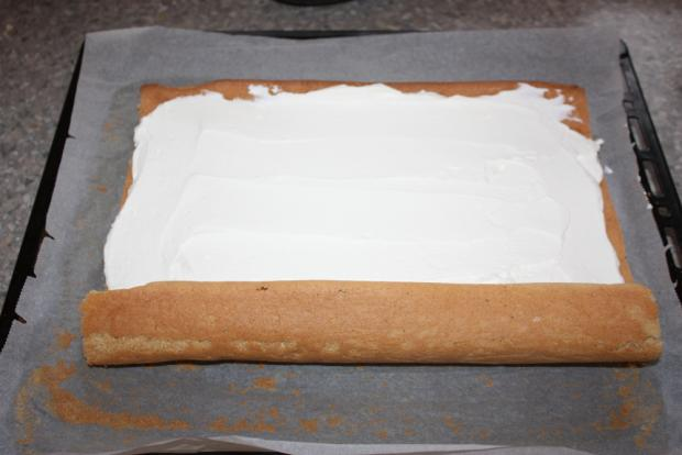 Tiramisu roláda - recept postup 9