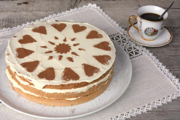 Tiramisu torta - recept postup 8