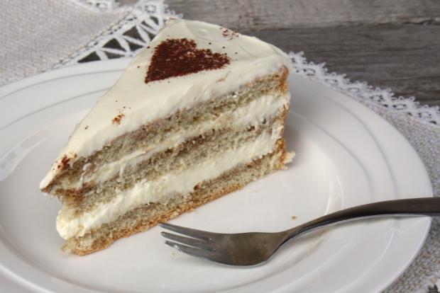 Tiramisu torta - recept postup 9
