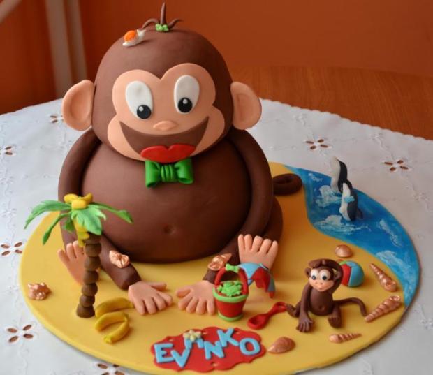 Veľkonočná tortička pre moje 3 malé zlatíčka... :) 1