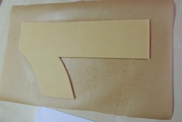Torta v tvare čísla s fotopostupom - recept postup 2