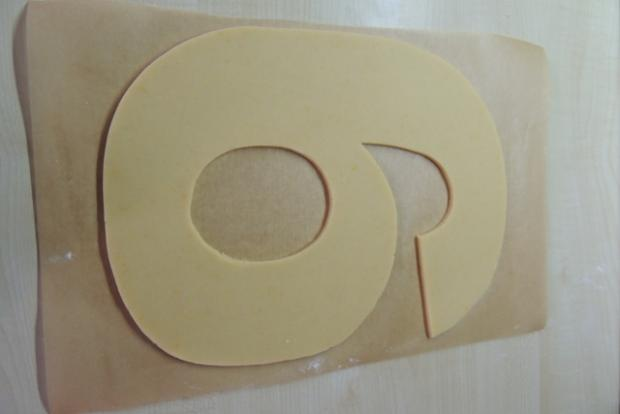 Torta v tvare čísla s fotopostupom - recept postup 4