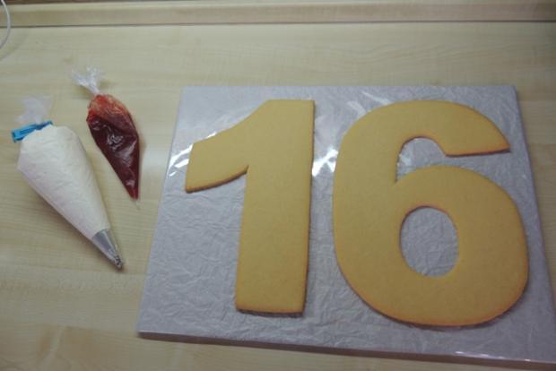 Torta v tvare čísla s fotopostupom - recept postup 5