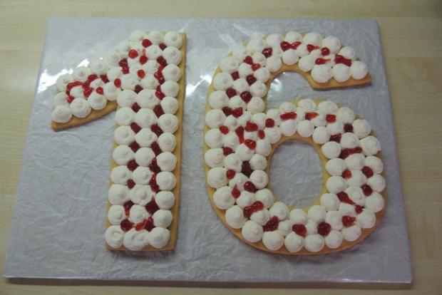 Torta v tvare čísla s fotopostupom - recept postup 7