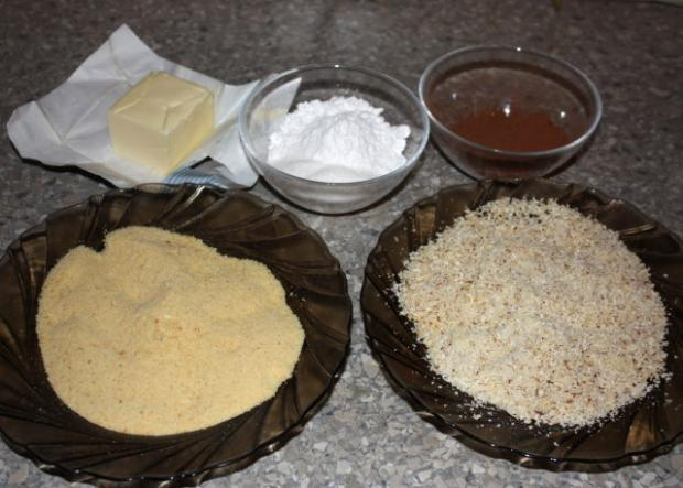 Kakaové úliky - recept postup 1