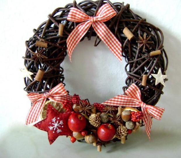 Vianočné dekorácie - handmade