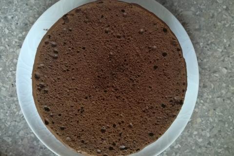Schwarzwaldská višňová torta - recept postup 9