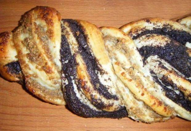 Orechovo makový vrkoč - recept