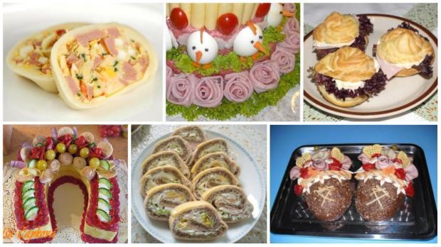 Desať receptov na slané rolády, torty ..