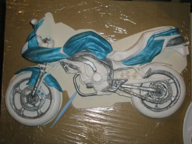 motorka  časť 1. - foto postup