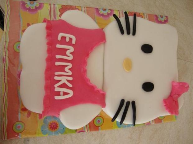 Hello Kitty fotopostup - foto postup