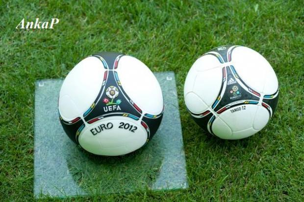 Futbalová lopta  - foto postup