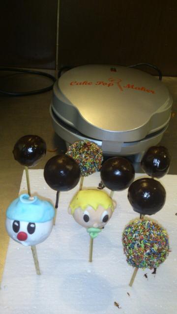 Cake pops s cake pops maker-om :-) - foto postup
