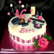 Torta S kozmetikou