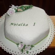 Torta Natálka 1 rok