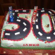 Torta cesta na 50
