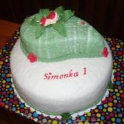 Torta narodeniny 1