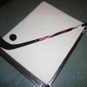 Torta Malému  hokejistovi