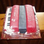 Torta narodeniny 65