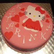 Torta Hello Kitty pre moju Katarínku