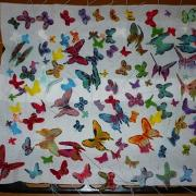 Torta Motýle čakajú na knihu:)
