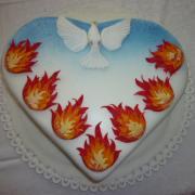 Torta Na birmovku - obetný dar